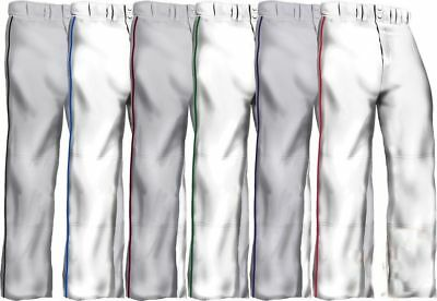 Easton Quantum Plus Adult Men's Piped Braid Open Bottom Baseball Pants A164617