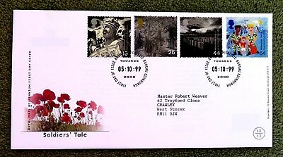 Royal Mail Millennium First Day Cover, Soldiers Tale, 1999