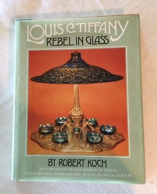 Louis C. Tiffany, Rebel in Glass by Robert Koch, 3rd Edition, 243 pp, Pre-owned