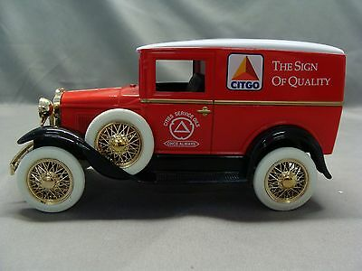 Citgo Ford Model A Delivery Toy Truck Bank, 1992 Liberty Classics, Stock #2514