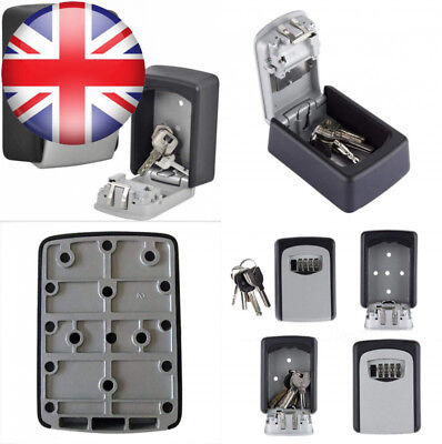 NUZAMAS Key Lock Box Large Storage Holds up to 5 Keys for Outside Master key...