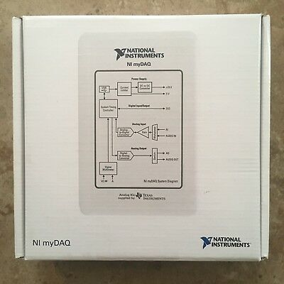 National Instruments NI myDAQ Student Kit with LabVIEW and Multisim - FREE SHIP