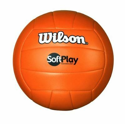 Wilson WTH3501 ORG Volleyball Soft Play Volleyball, Orange