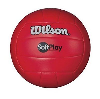 Wilson WTH3501 RED Soft Play Volleyball-Red