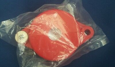 Brady Gate valve Tap lockout Tagout PP 64-127 mm 065561 lock out New Free Post