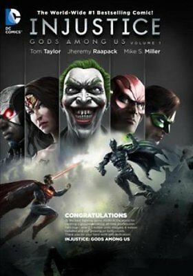 Injustice Gods Among Us Year Five Vol. 1 by Brian Buccellato 9781401268831