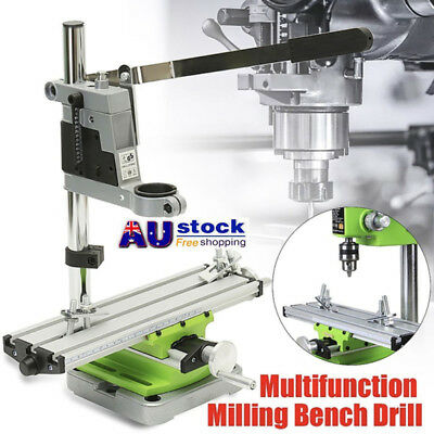 Mini Milling Machine Bench Drill Vise Worktable Coordinate Table 2Axis AU STOCK!