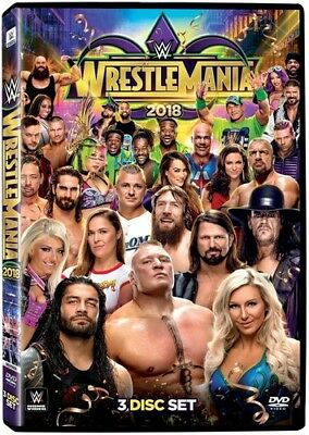 WWE: WrestleMania 34 [New DVD] 3 Pack, Ac-3/Dolby Digital, Amaray Case, Dolby,