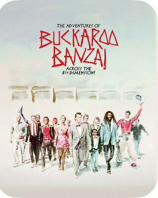 The Adventures Of Buckaroo Banzai Across The 8th Dimension [New Blu-ray] Ltd E