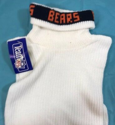 NWT Chicago Bears TURTLE NECK DICKIE SWEATER