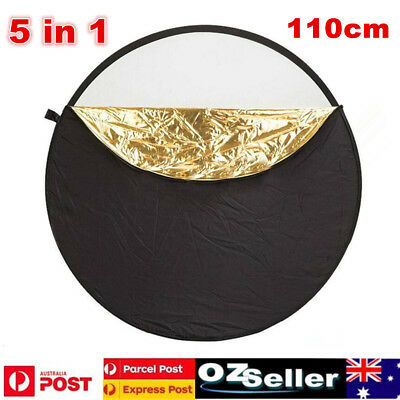 110cm 5in1 Photo Photography Light Diffuser Mulit Collapsible Reflector Board
