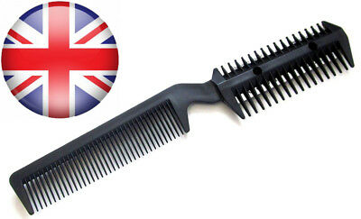 2 in 1 Professional Razor Comb- DIY Hair Extensions Thinning Styling Trim...