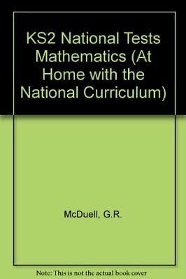 KS2 National Tests Mathematics (At Home with the National Curriculum) By G.R. M