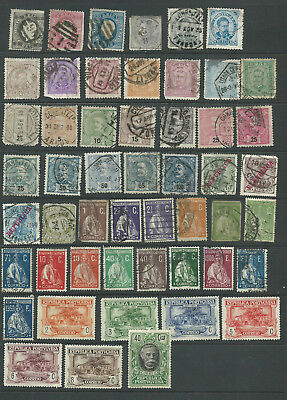 Portugal 1866-1934 mint/used from an old collection (2 pages)