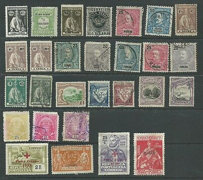 Portuguese Colonies selection 1866-1934 mostly good used from an old collection
