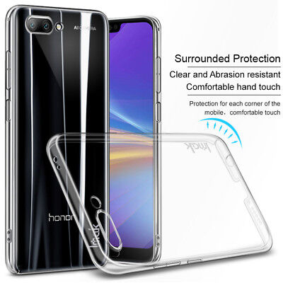 IMAK Crystal Clear 360° Protection Hard Back Cover Skin Case For Huawei Mobiles