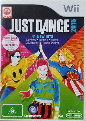 JUST DANCE 2015 THE VIDEO GAME FOR NINTENDO Wii