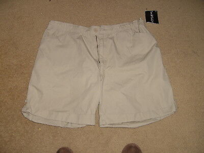 "Burrylane Ladies Shorts  Sz Xl  16-18  New  Tan  8"" Inseam"