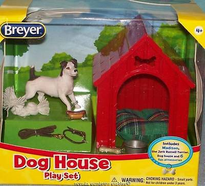 Breyer Collectable Dog house Play Set w/ Accessories
