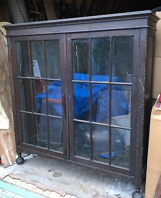 Antique /Vintage 2 DOOR BOOKCASE FROM LORD AND TAYLOR STORE