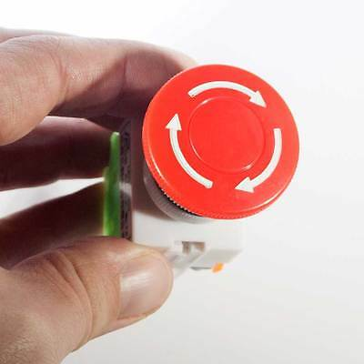 Emergency Stop Switch Push Button Mushroom PushButton