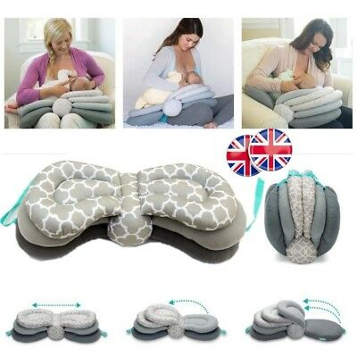 Adjustable Nursing Breastfeeding Baby Support Cushions Breast Feeding Pillows UK