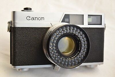 Canon Canonet Rangefinder Camera 45/1.9 Lens