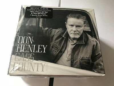 Don Henley - Cass County Deluxe (2015)  CD NEW SEALED 16 TRK CD 602547418135