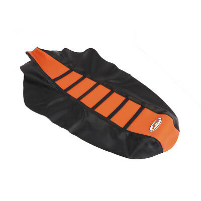 Ribbed Gripper Seat Cover For KTM 85XC 105XC 2008-2009 Orange New Off road 200XC