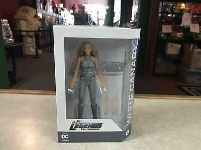 """2017  DC Direct CW TV Legends of Tomorrow WHITE CANARY 6"""" Inch Figure MOC"""