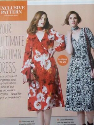PRIMA SEWING Pattern Ladies Dress sizes 10=20 UNCUT - £1.20 ...