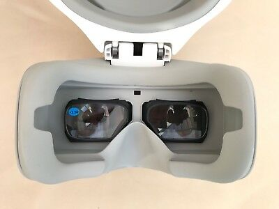 dji goggles focus fixing lenses +3.50 magnification With 3D Printed frames.