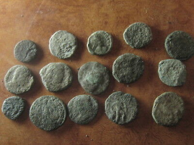 Ancient roman coins lot 46