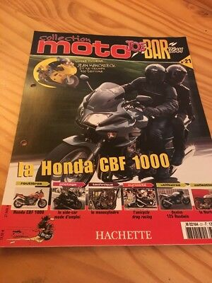 Joe Bar Team fasicule n° 21 collection moto Hachette revue magazine brochure