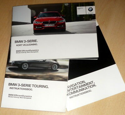 INSTRUKTIONSBOG,owners manual BMW (F30) Touring serie 3,anno 2015