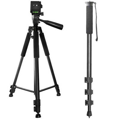 """Pro 60"""" Tripod + 72"""" Monopod for Sony HDR-MV1, HDR-PJ540, & HDR-CX220 Camcorders"""