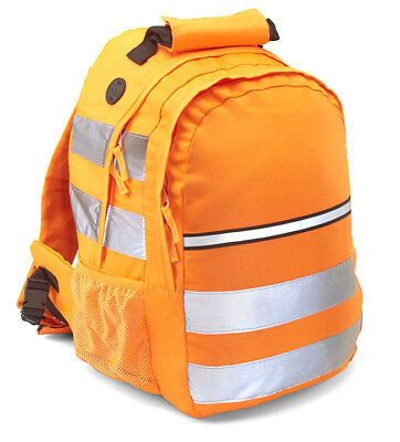 High Visibility Rucksacks Multi Pocketed {Yellow/Orange} 25L Capacity