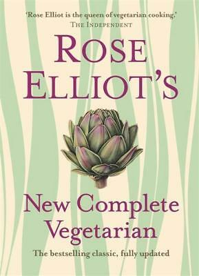 NEW Rose Elliot's New Complete Vegetarian By Rose Elliot Hardcover Free Shipping