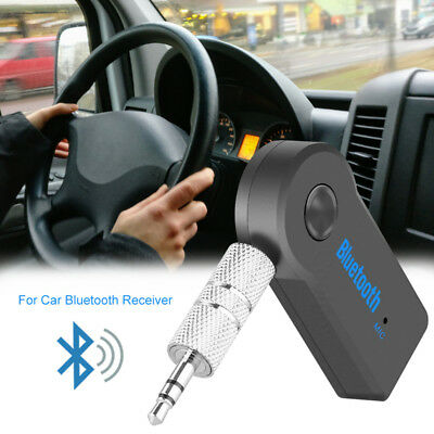 Handsfree Wireless Bluetooth 3.5mm Car Aux Audio Stereo Music Receiver Adapter