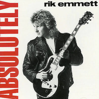 Absolutely by Rik Emmett (CD, Jan-1995, Scott) TRIUMPH