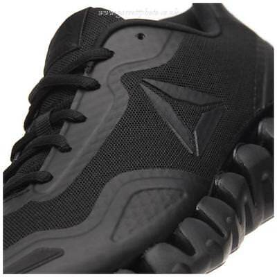 70ee723f03a Reebok Athletic Zig Pulse Mens Black Black Running Shoes BS6918 All Sizes