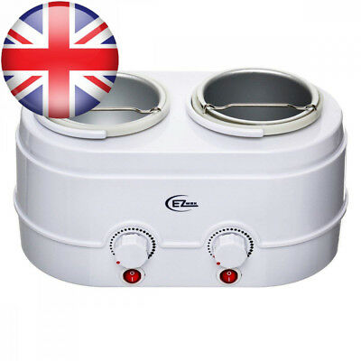 Ez Wax Double Heater 500cc & 1000cc all in one