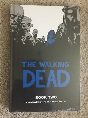 The Walking Dead: Book 2 (English) Hardcover 12 Story Graphic Novel Compendium