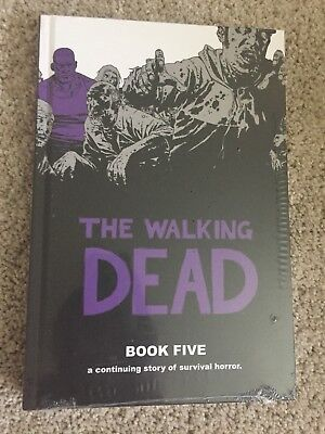 The Walking Dead Book 5 - Hardcover Robert Kirkman & Charlie Adlard