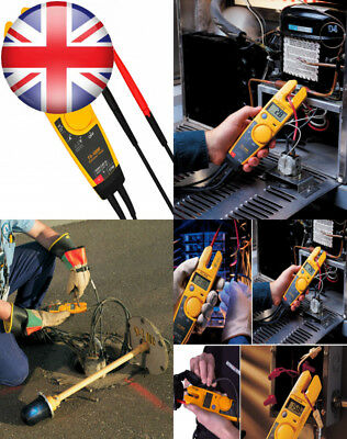Fluke T5-1000 Open Jaw Electrical Tester 1000V - Voltage, Continuity and Current