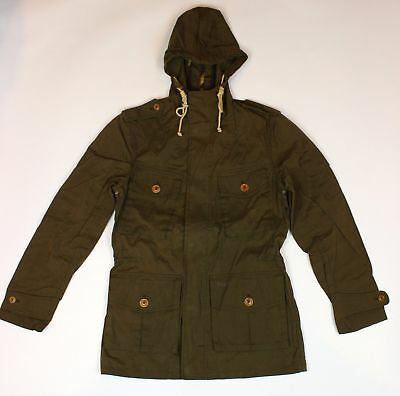 BRAND NEW - Barbour Cowen Commando Ranger Casual Hooded Jacket-M-MSRP $379