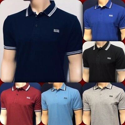 Hugo Boss Short Sleeve Men's Polo Shirt New With Tag
