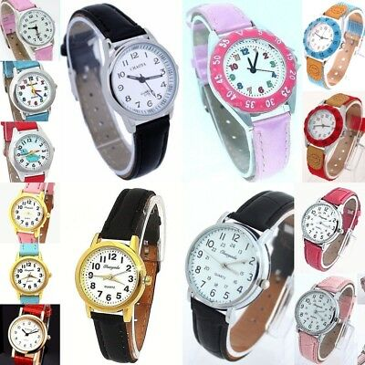 Girl Boy & Teenagers Quartz Analog & Learn time Wrist watch selection Childrens
