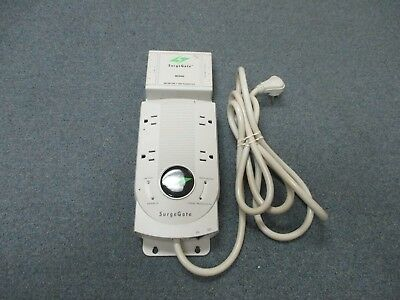 ITW Linx SurgeGate M4KSU 4 Outlet Surge Protector W/ MCO4x4 4 CO Line Protector