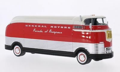 General Motors Futurliner Truck Parade Of Progress 1950 Neoscale 1:43 NEO46470